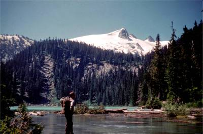 George Kniert at Found Lake 7-25-1959